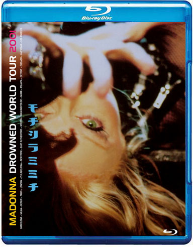 Bluray Madonna Drowned World Tour cover