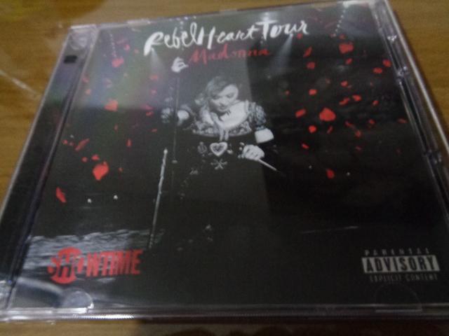 CD MADONNA REBEL HEART TOUR 3