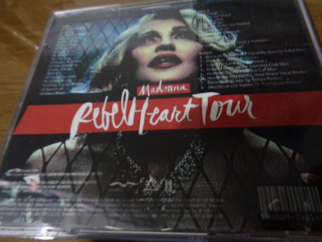 CD MADONNA REBEL HEART TOUR 5