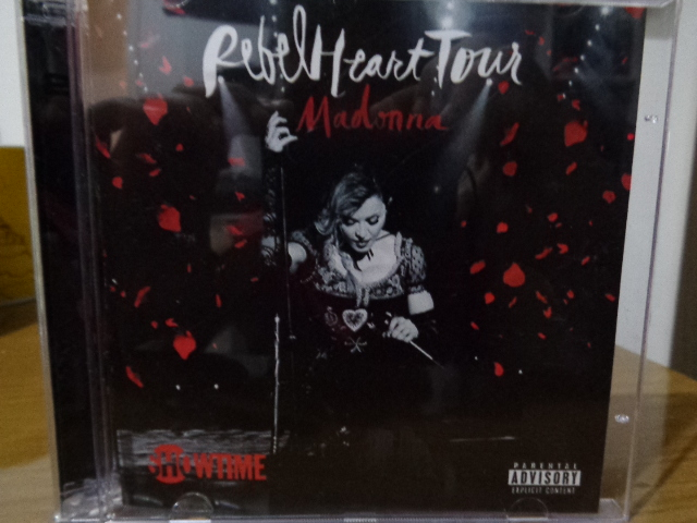 CD MADONNA REBEL HEART TOUR CAPA
