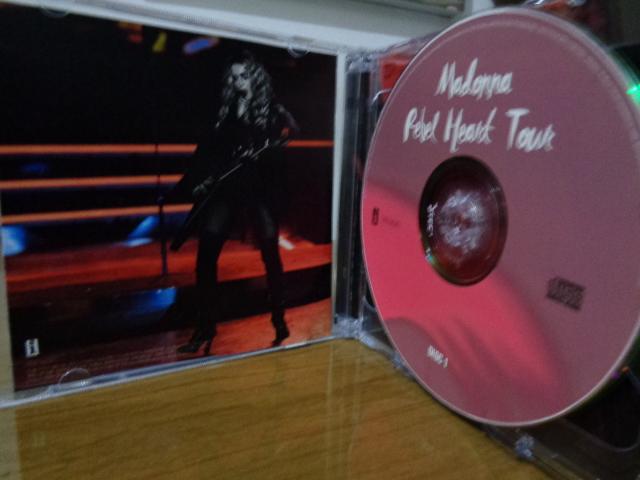 CD MADONNA REBEL HEART TOUR CD 2