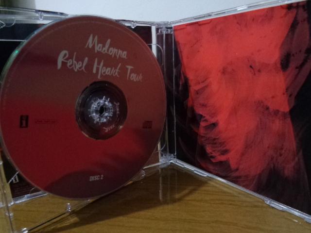 CD MADONNA REBEL HEART TOUR2