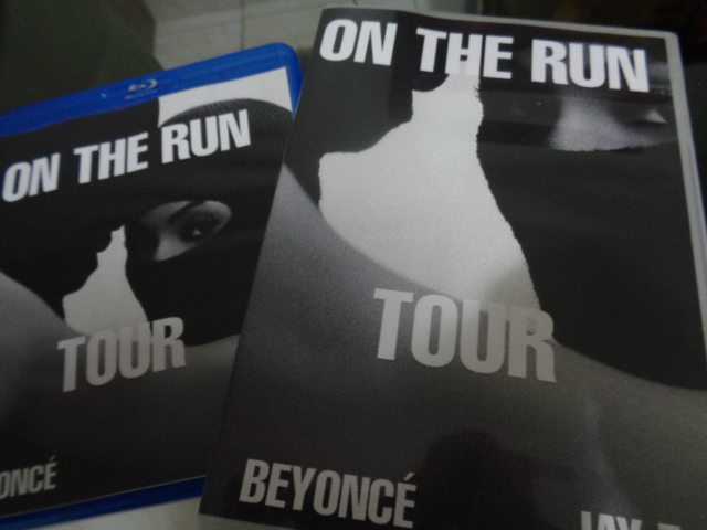 DVD BEYONCÉ + JAY-Z - ON THE RUN (2)