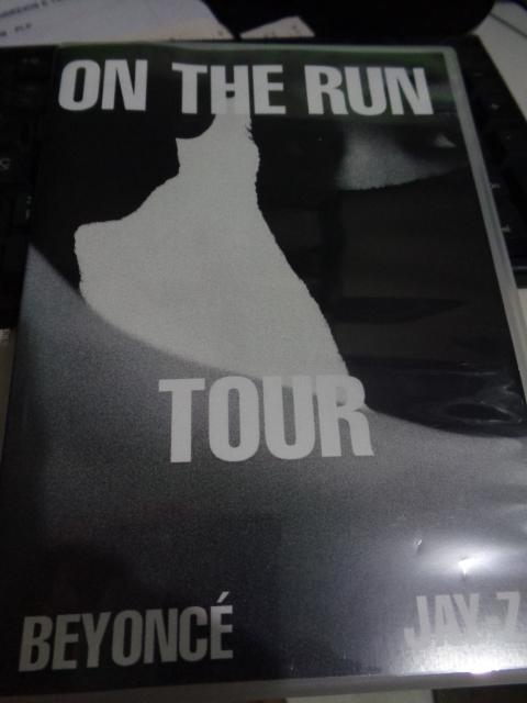 DVD BEYONCÉ + JAY-Z - ON THE RUN