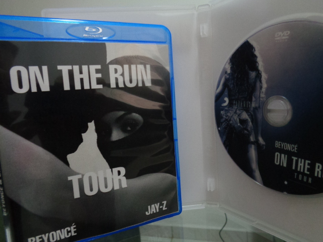 DVD BEYONCÉ + JAY-Z - ON THE RUN2