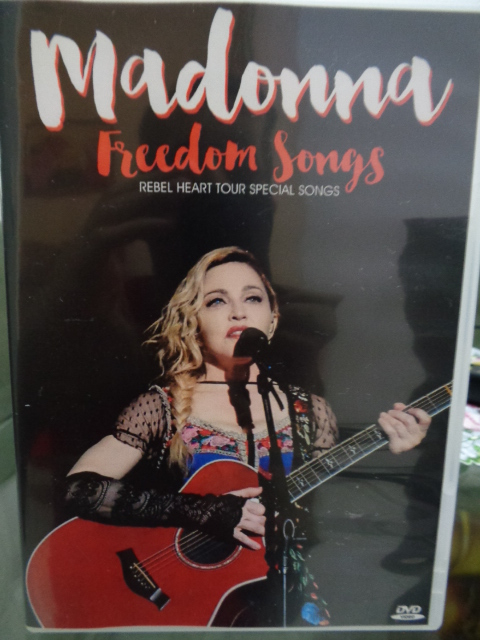 DVD MADONNA REBEL HEART TOUR - FREEDOM SONGS