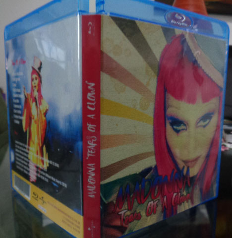 Bluray e CD Madonna Rebel Heart Tour - Tears Of A Clown 4