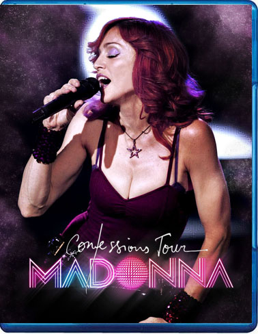 madonna the confessions tour bluray